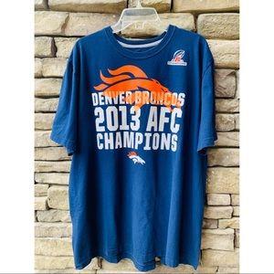 Denver Broncos Retro Graphic Tee 2XL